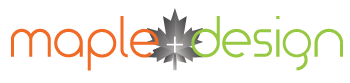 Maple-Design + Web + Graphic + Print Logo